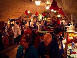 Julmarknad på Kornettgården