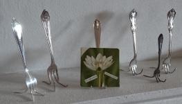 Stöd av gaffel