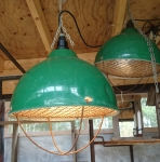 Grislampa grön. 400kr